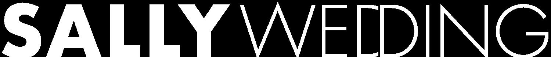 인천웨딩샵 샐리웨딩 화이트 로고